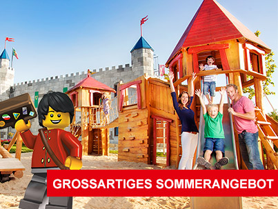 legoland legoland gro artiges sommerangebot. Black Bedroom Furniture Sets. Home Design Ideas